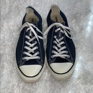 Men's Navy and white Converse size 13